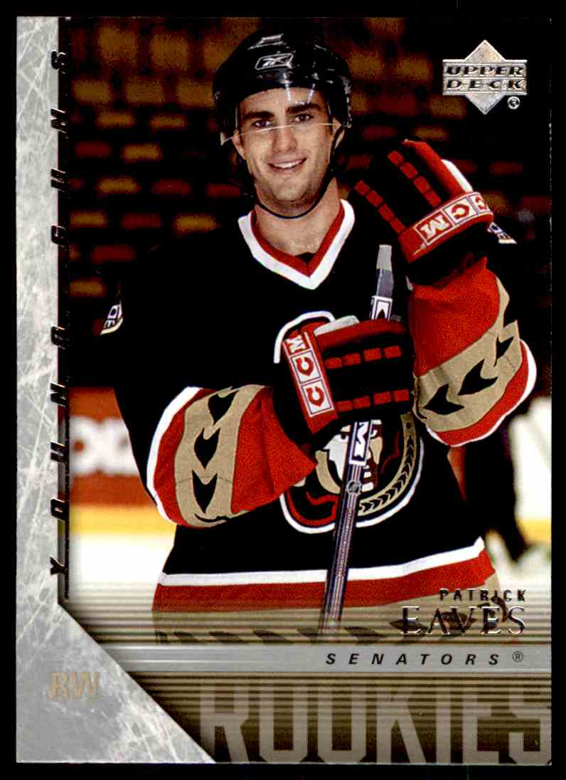 2005-06 Upper Deck Young Guns Patrick Eaves #458 card front image