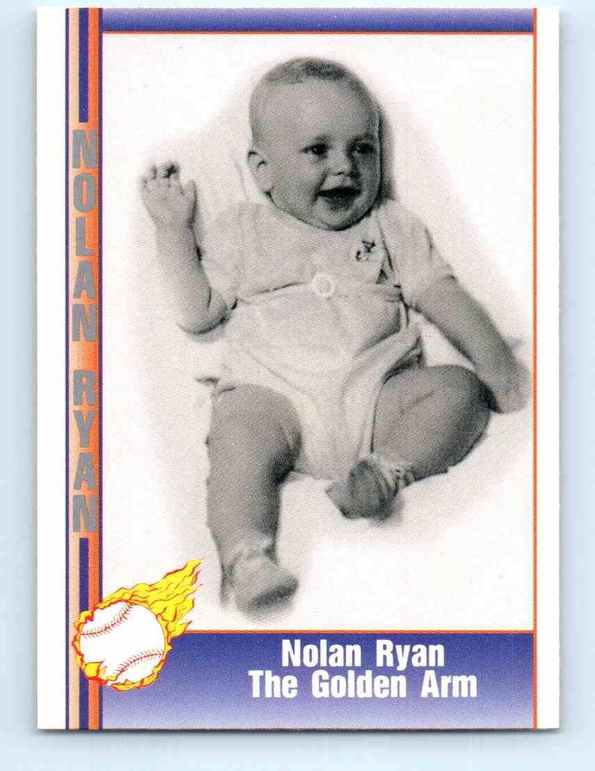 1991 Pacific Nolan Ryan Express Nolan Ryan The Golden