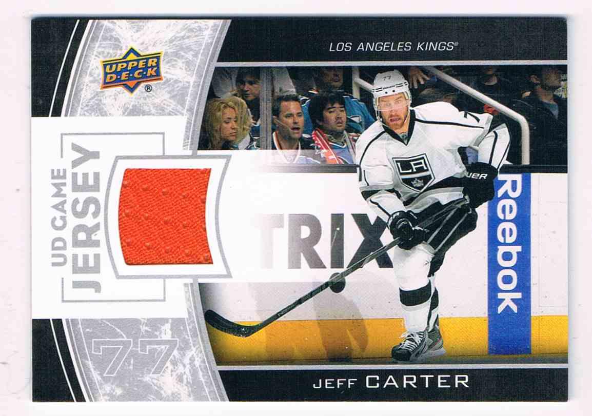 2013-14 Upper Deck Series One Jeff Carter #GJ-JC card front image
