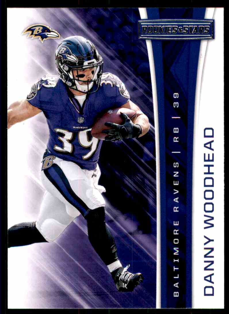 2017 Rookies And Stars Danny Woodhead #158 card front image