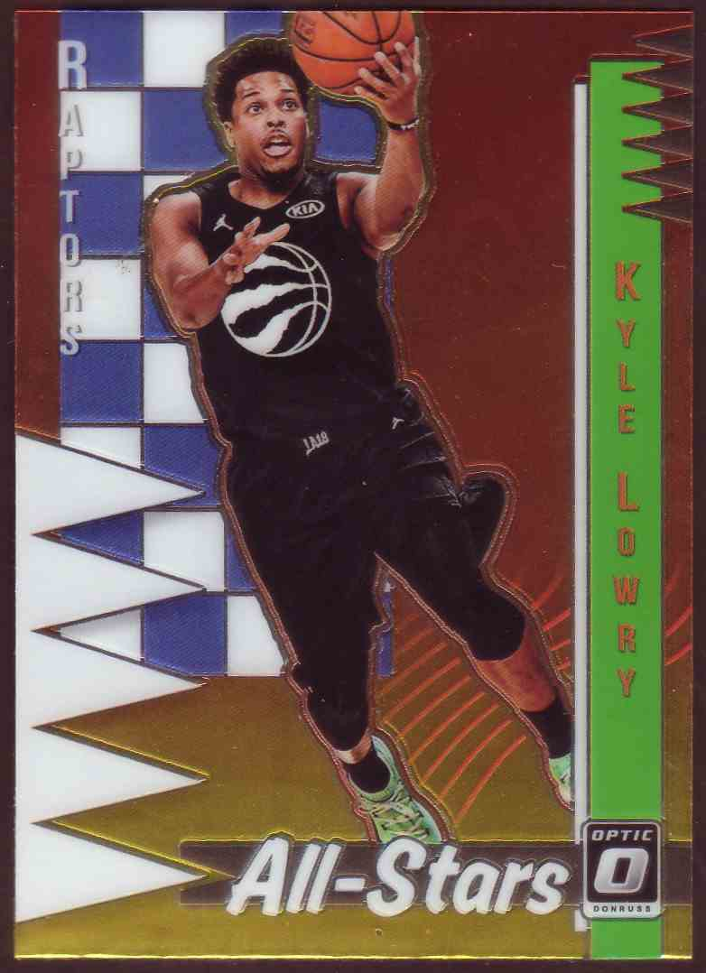 2018-19 Donruss Optic All Stars Kyle Lowry #10 card front image