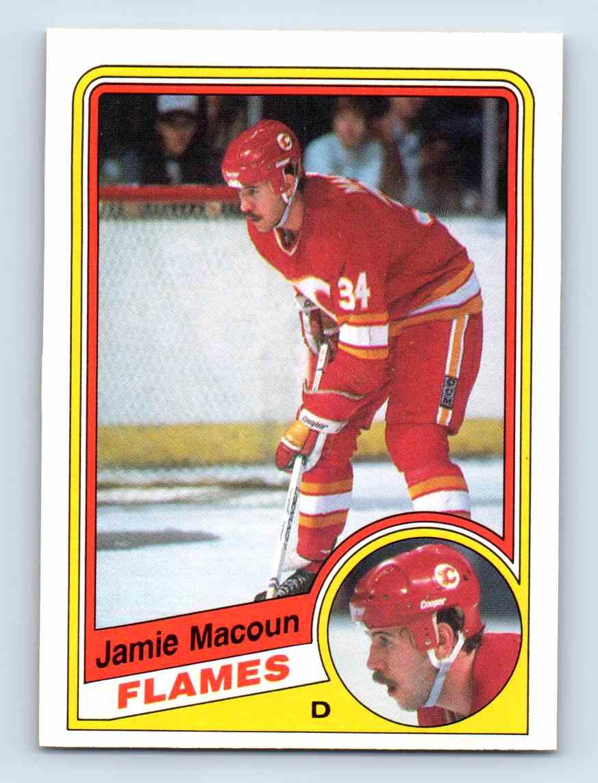 1984-85 O-Pee-Chee Jamie Macoun #230 card front image