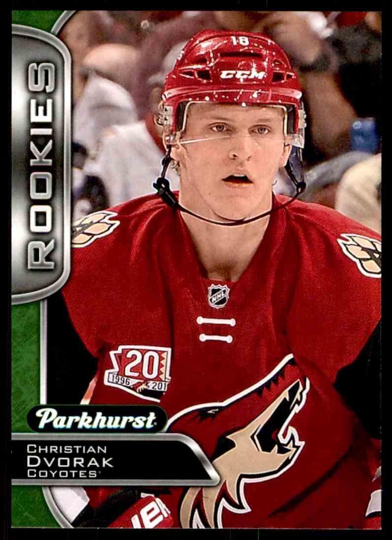 2016-17 Parkhurst Christian Dvorak #383 card front image