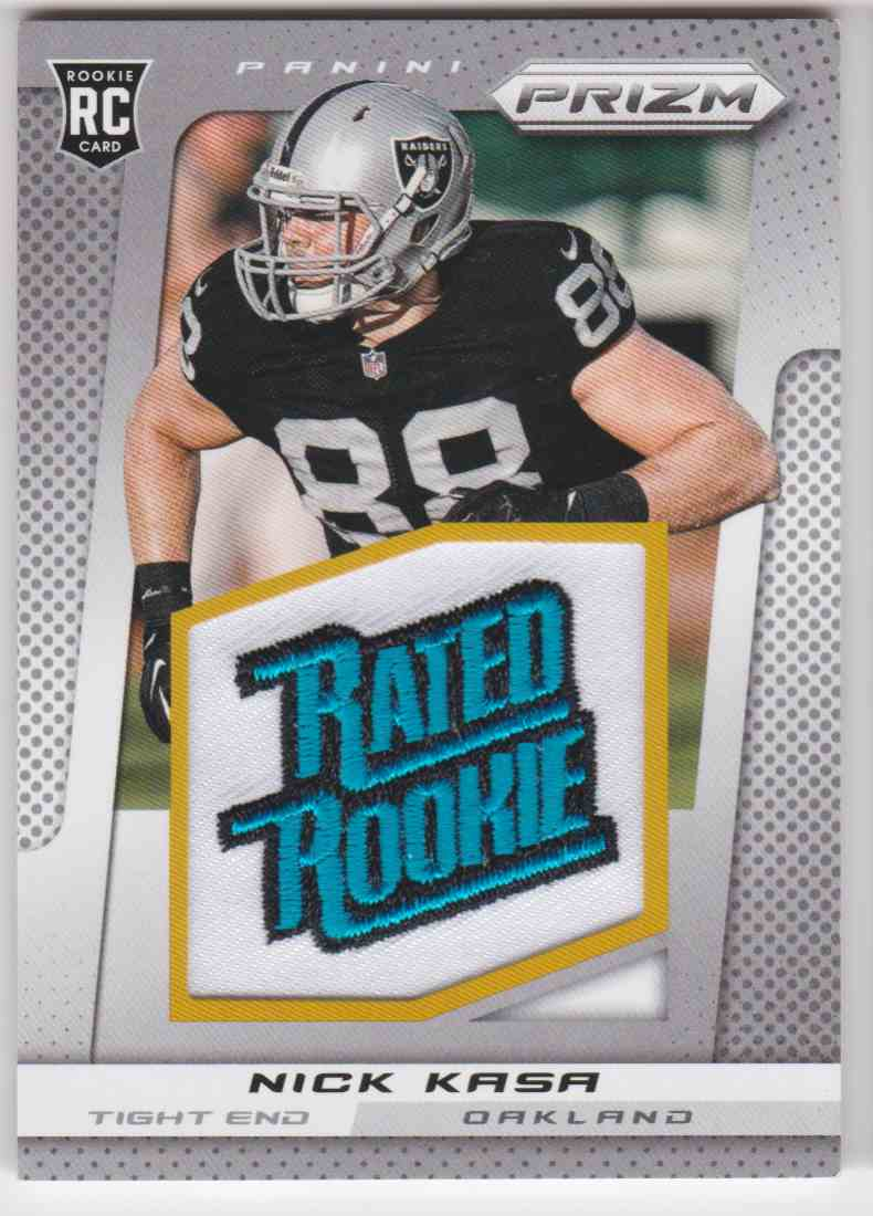 2013 Panini Prizm Rated Rookie Patch Nick Kasa #274 card front image