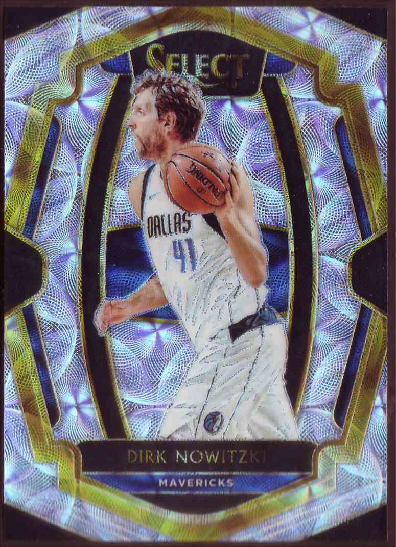2018-19 Panini Select Premium Level Scope Dirk Nowitzki #113 card front image