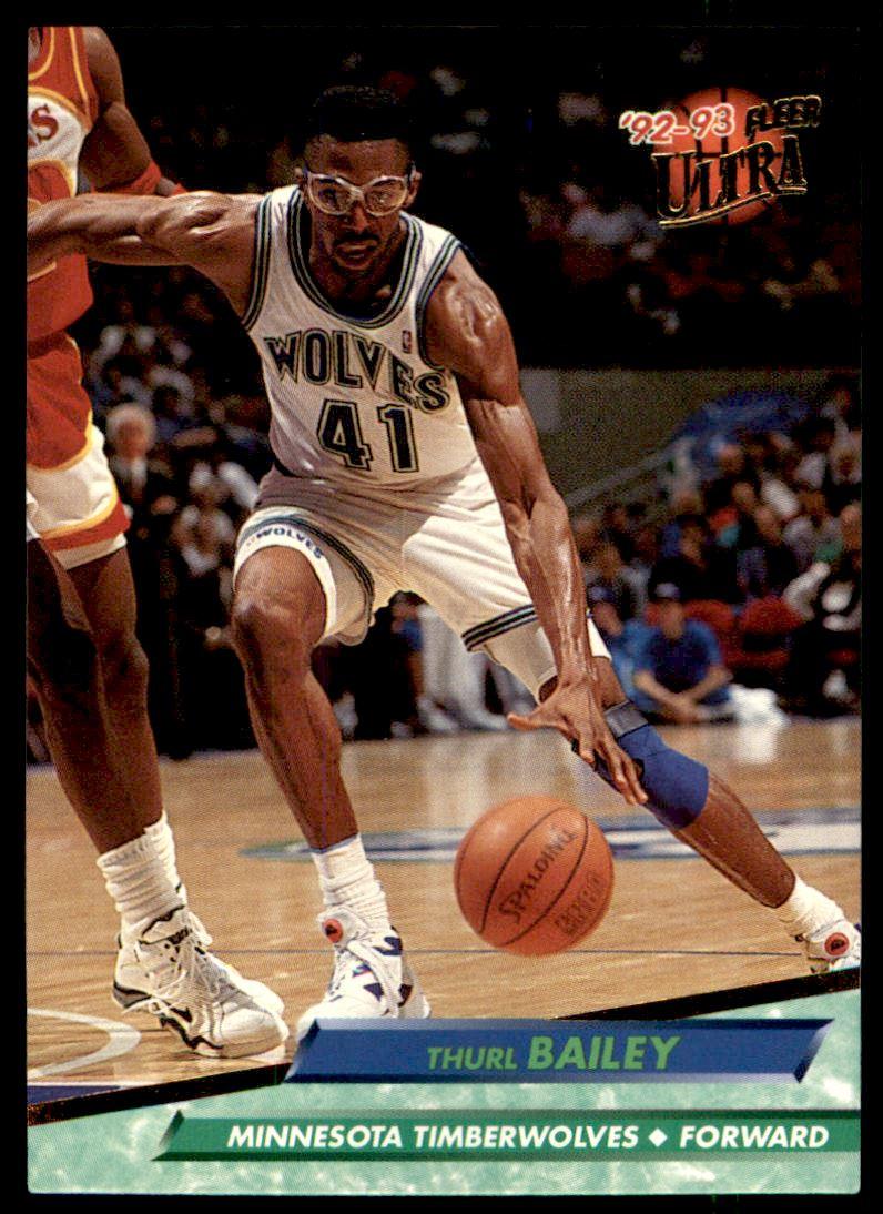 1992 93 Fleer Ultra Thurl Bailey 109 on Kronozio