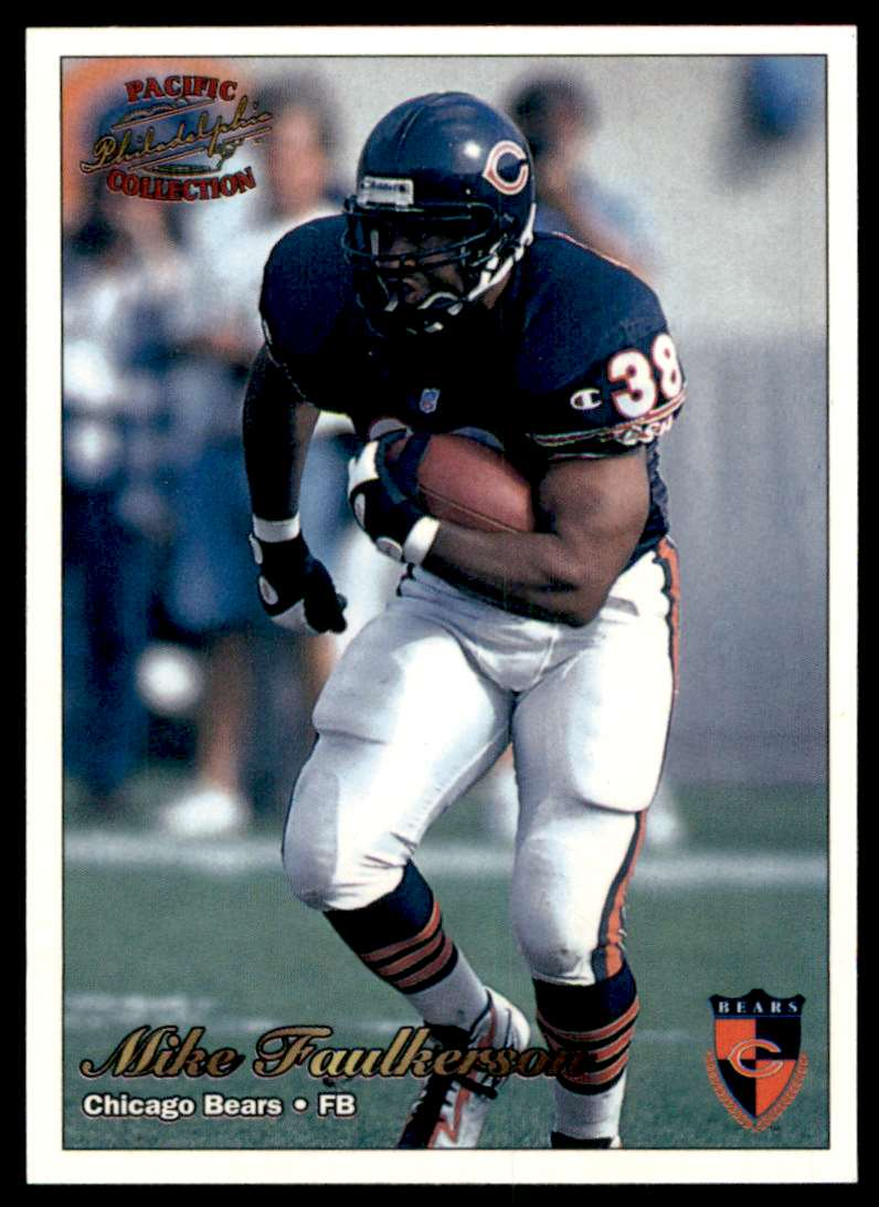1997 Pacific Philadelphia Mike Faulkerson #58 card front image