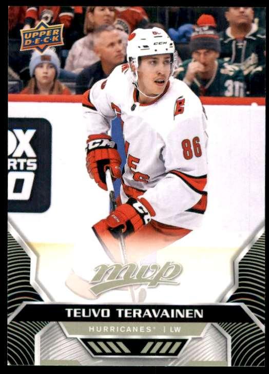 2020-21 Upper Deck MVP Teuvo Teravainen #50 card front image
