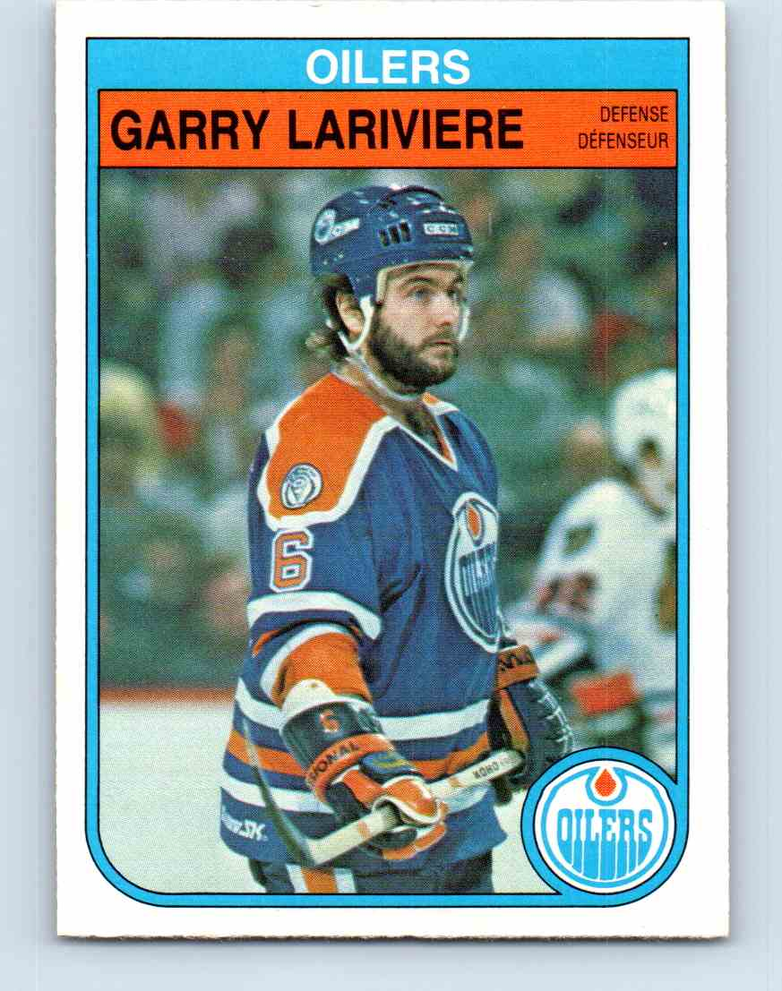 1982-83 O-Pee-Chee Garry Lariviere #116 card front image