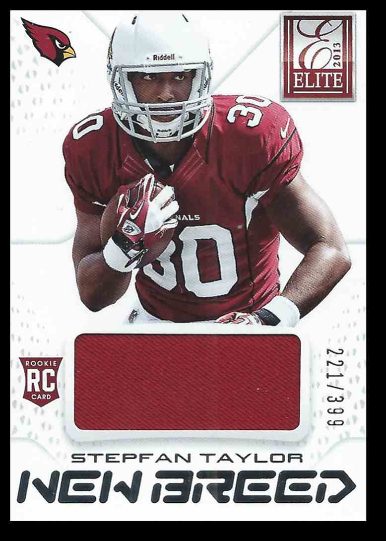 2013 Panini Elite Stepfan Taylor #34 card front image