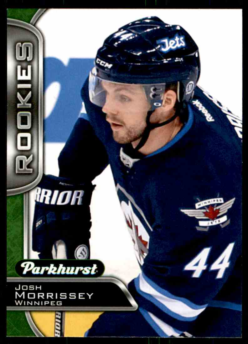 2016-17 Parkhurst Josh Morrissey #344 card front image