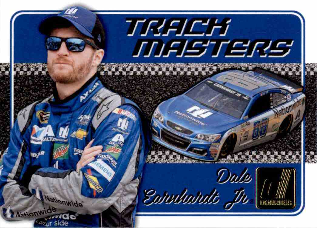 2017 Panini Donruss Racing Dale Earnhardt JR. #TM3 card front image