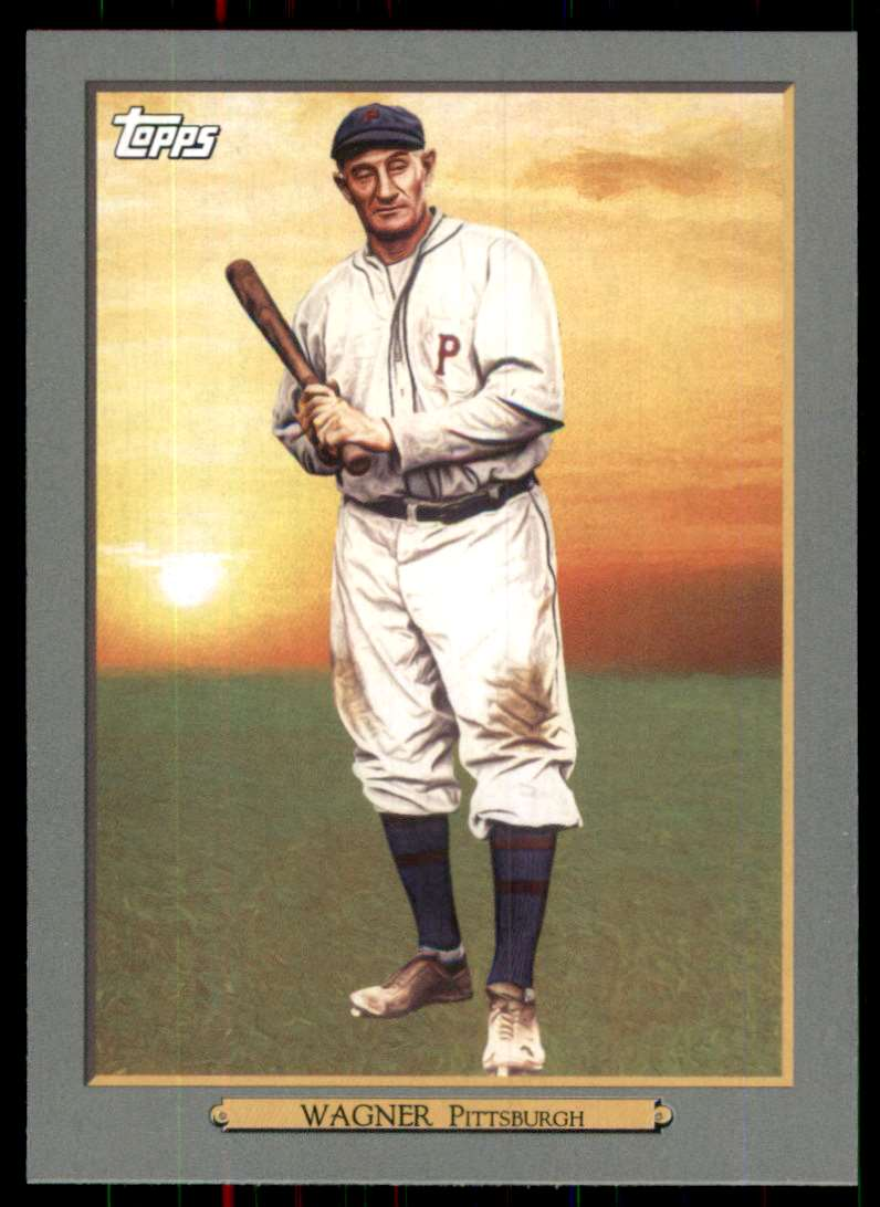 2020 Topps Turkey Red '20 Series 2 Honus Wagner #TR-74 card front image