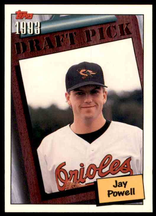 1994 Topps Jay Powell RC #745 card front image