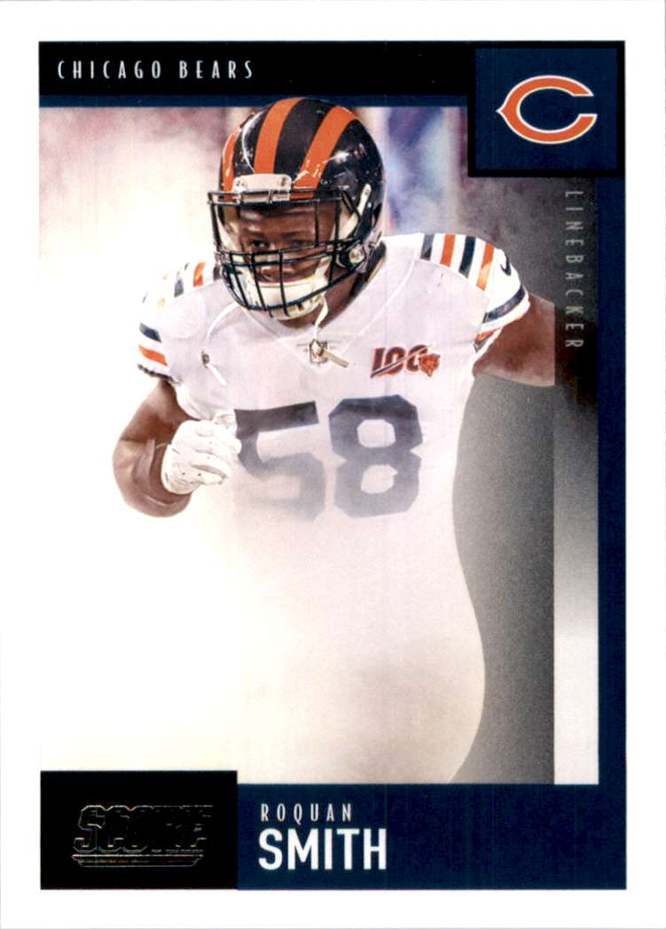 2020 Score Roquan Smith #212 card front image