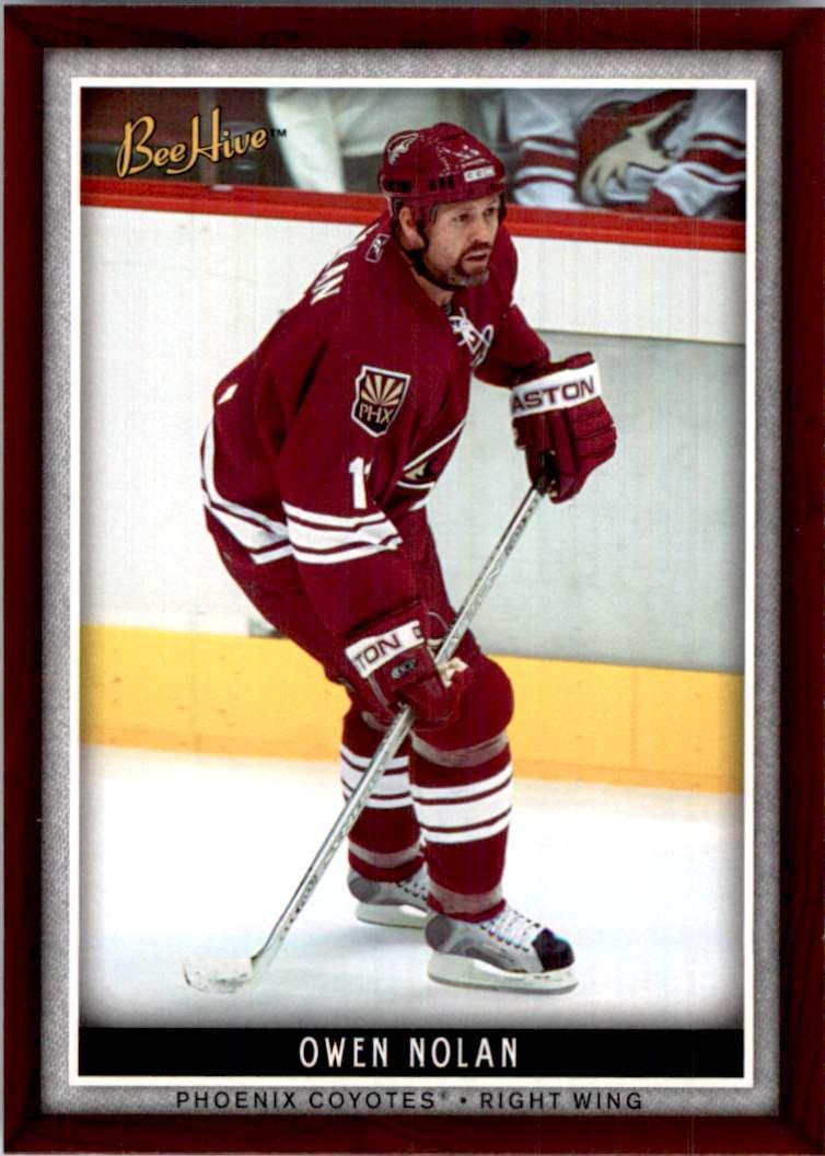 2006-07 Upper Deck Beehive Owen Nolan #26 card front image