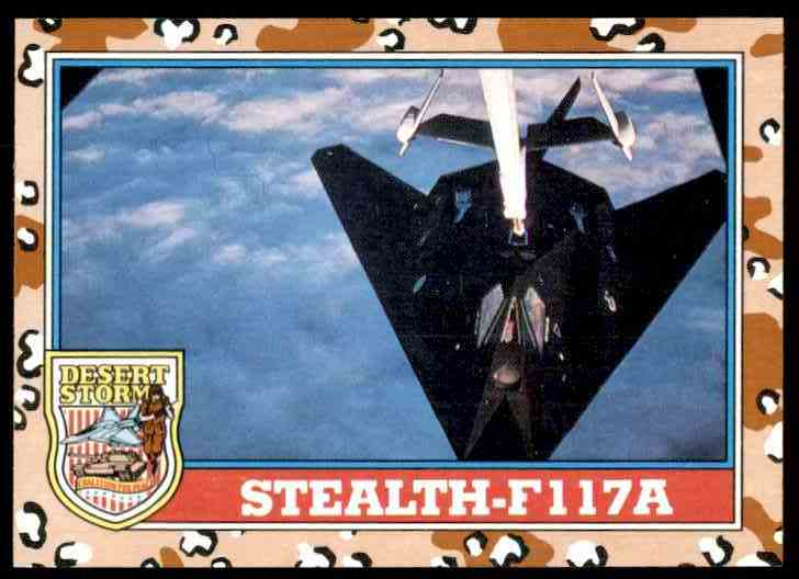 1991 Desert Storm Topps Stealth-F117a #119 card front image