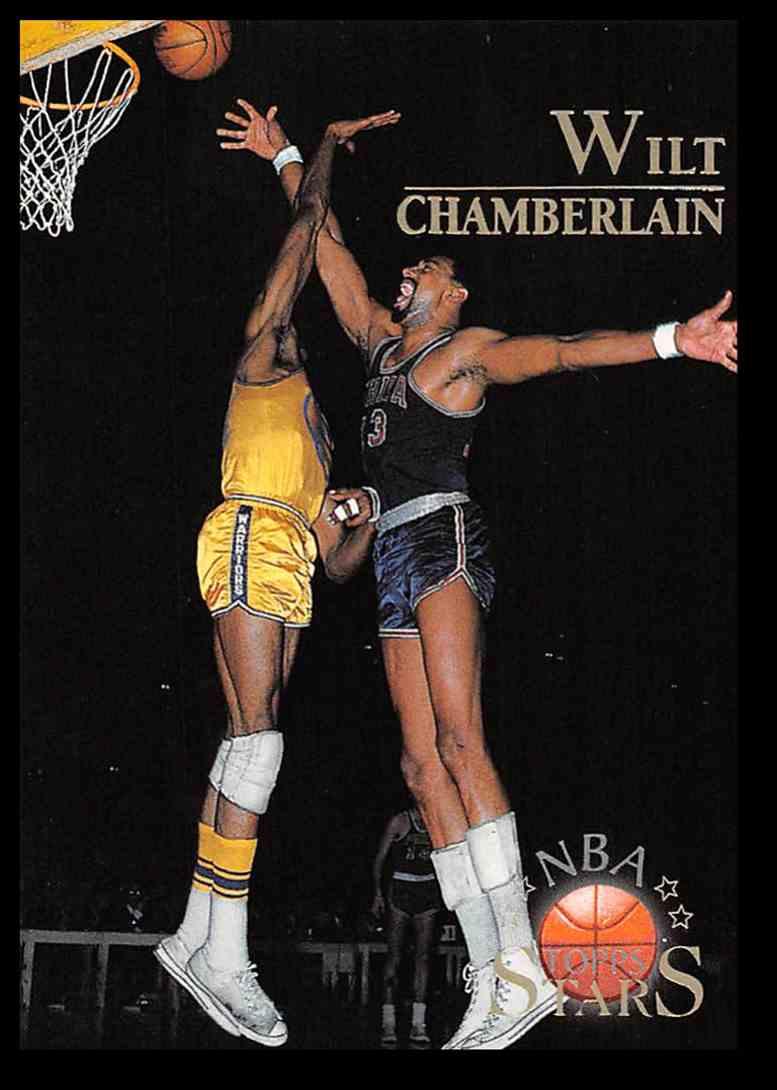 1996-97 Topps Topps Stars Wilt Chamberlain #109 card front image