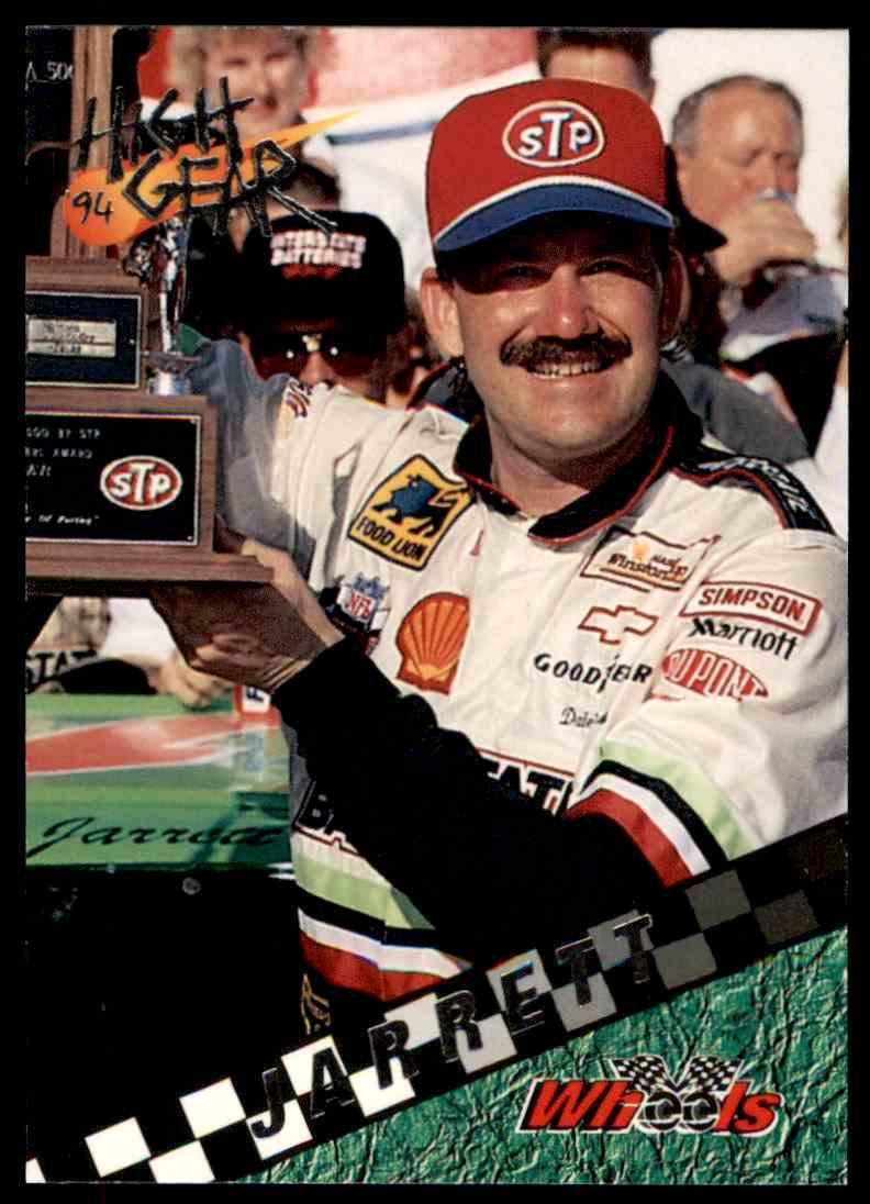 1994 Wheels High Gear Dale Jarrett #75 card front image