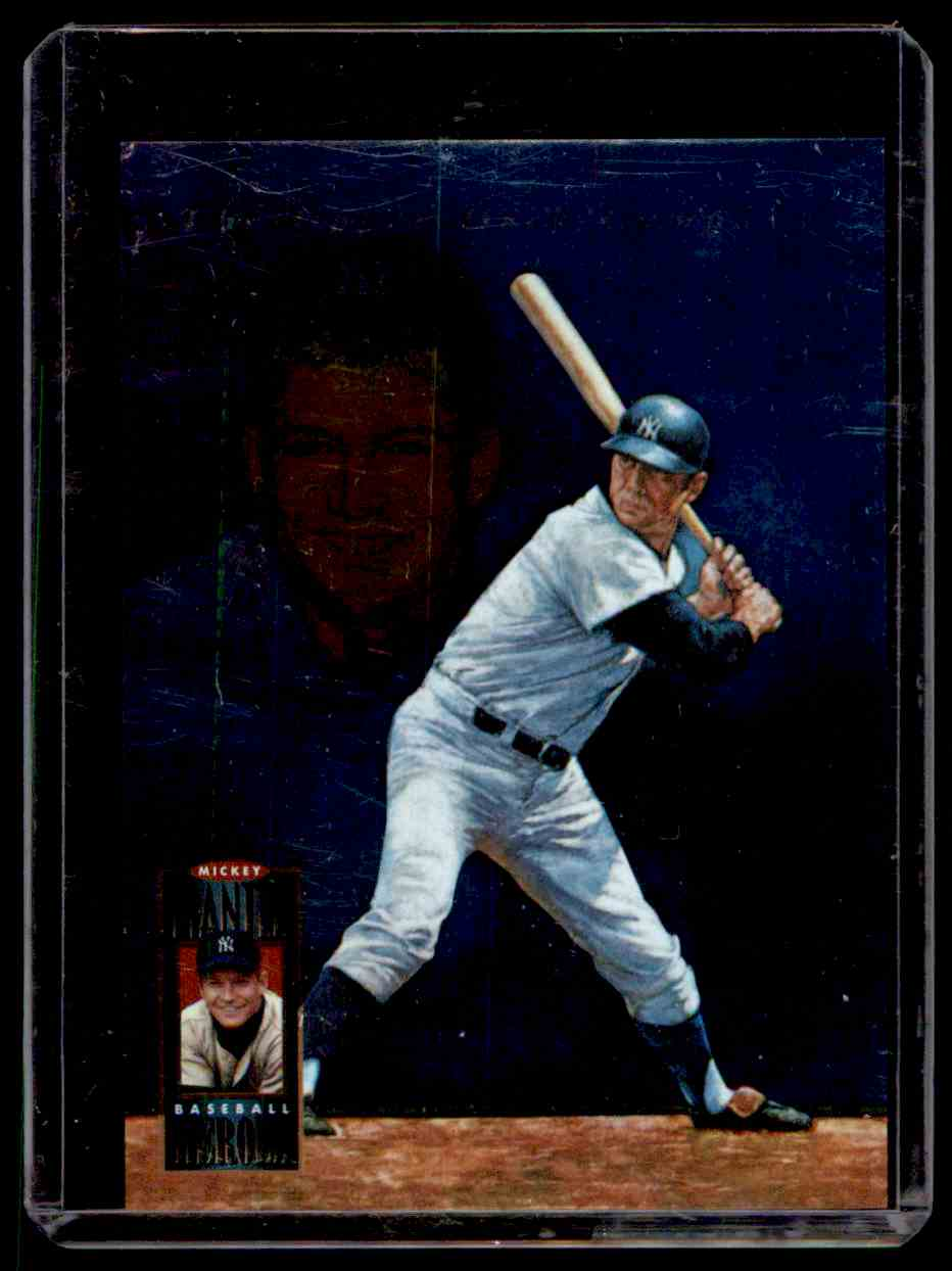1994 Upper Deck Mantle Heroes Mickey Mantle #72 card front image