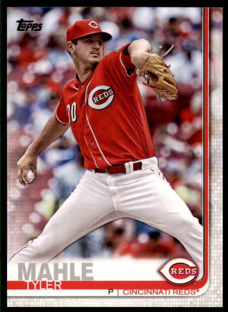2019 Topps Series 2 Tyler Mahle #399 card front image