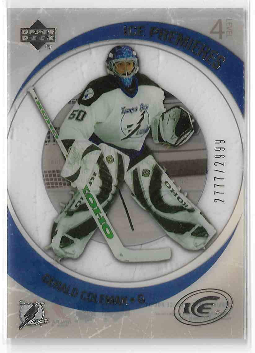 2005-06 Upper Deck Ice Gerald Coleman #209 card front image