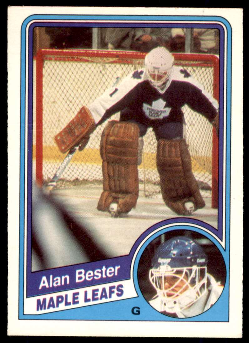 1984-85 OPC Alan Bester #297 card front image