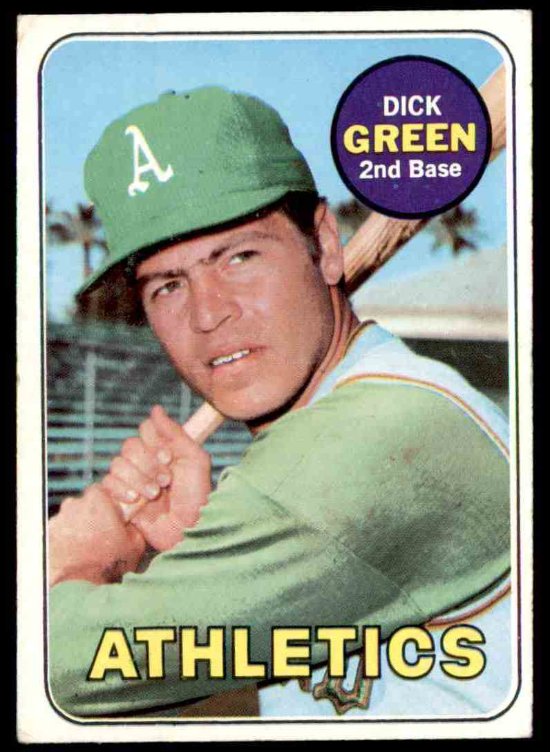 1969 Topps Dick Green #515 card front image
