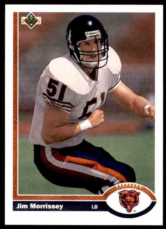 1991 Upper Deck Jim Morrissey RC #547 card front image