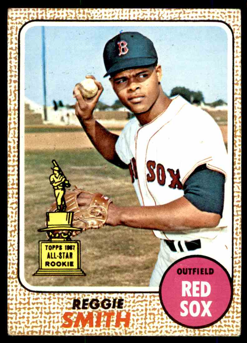 1968 Topps Reggie Smith #61 card front image