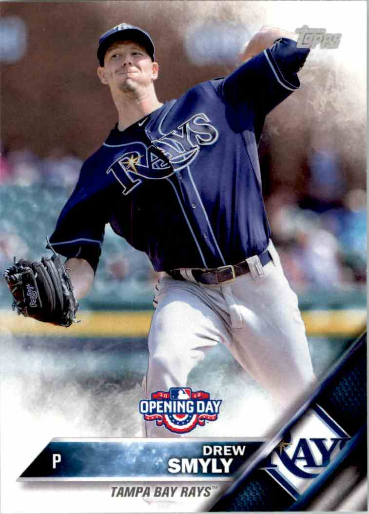 2016 Topps Opening Day Drew Smyly #OD-178 card front image