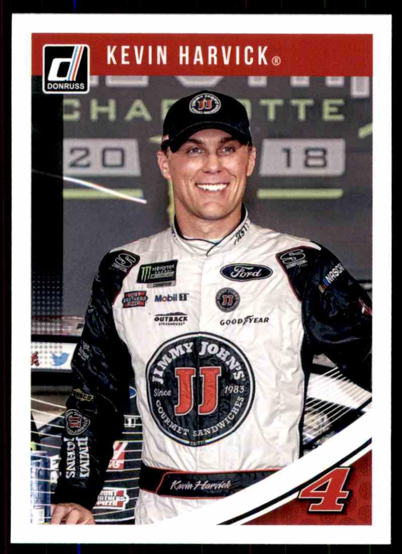 2019 Donruss Kevin Harvick #60 card front image