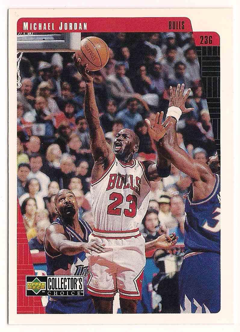 1997-98 Upper Deck Collectors Choice Michael Jordan #CB7 card front image