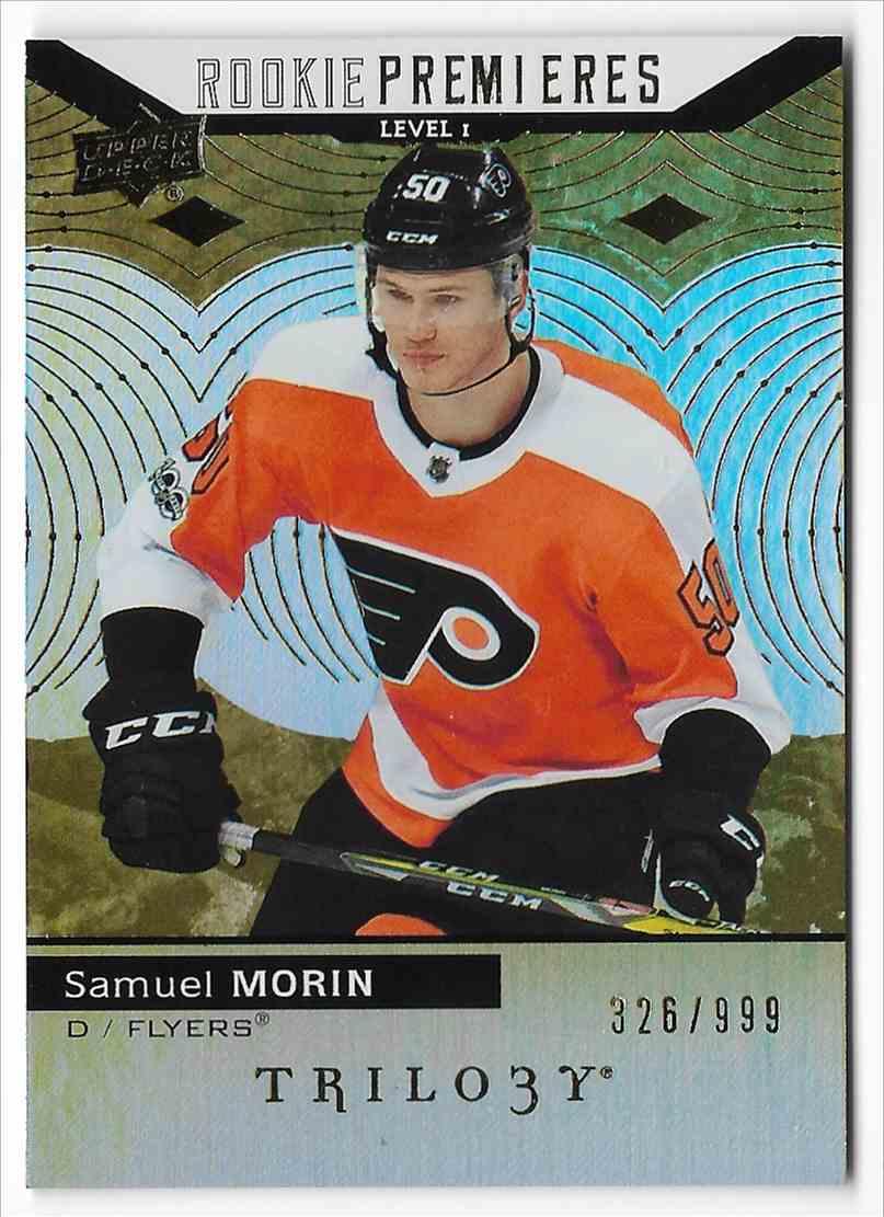 2017-18 Upper Deck Trilogy Samuel Morin #53 card front image