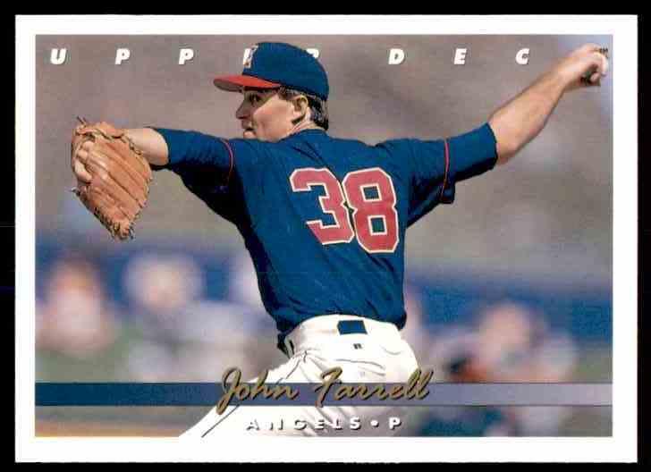 1993 Upper Deck John Farrell #689 card front image