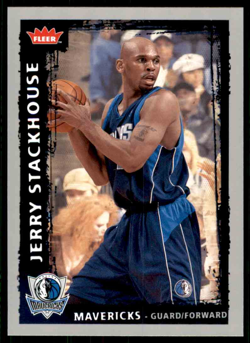 2008-09 Fleer Jerry Stackhouse #146 card front image
