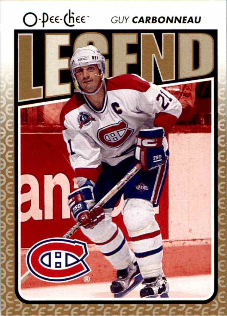 2009-10 O-Pee-Chee Guy Carbonneau #575 card front image