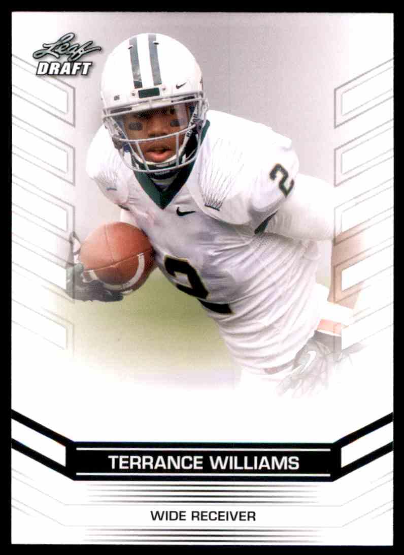 2013 Leaf Draft Terrance Williams #71 card front image
