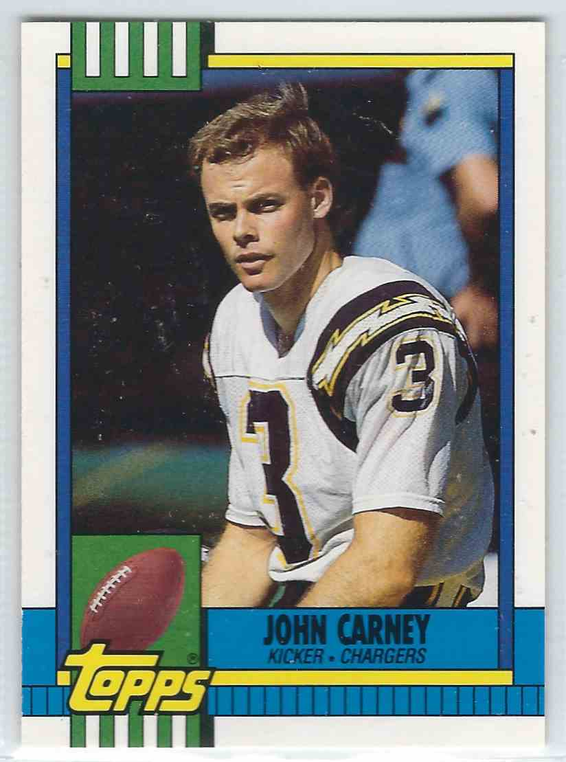 1990 Topps Traded John Carney #83T card front image