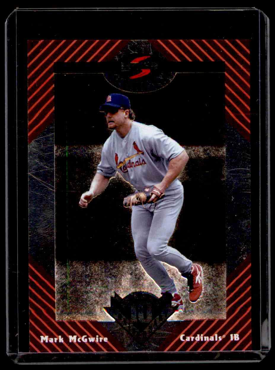 1998 Score All Score Team Mark McGwire #4 card front image