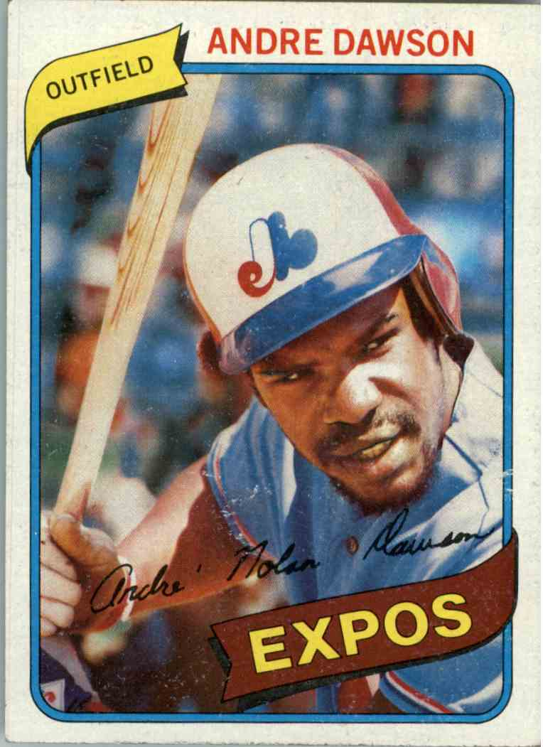 1980 Topps Andre Dawson #235 card front image