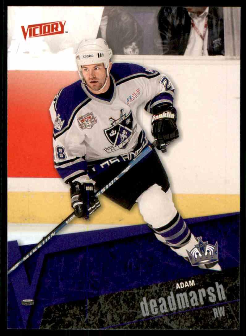 2003-04 Upper Deck Victory Adam Deadmarsh #86 card front image