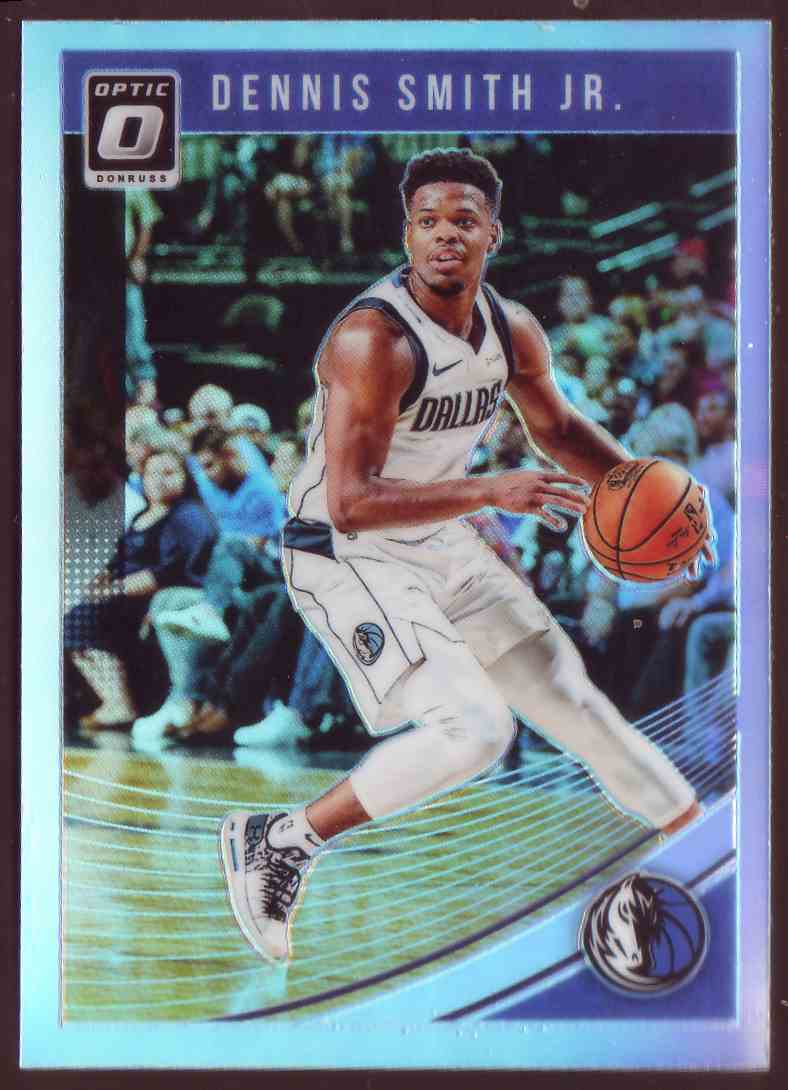2018-19 Donruss Optic Prizm Holo Dennis Smith JR. #10 card front image