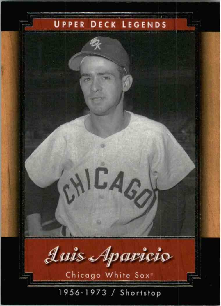 2001 Upper Deck Legends Luis Aparicio #35 card front image