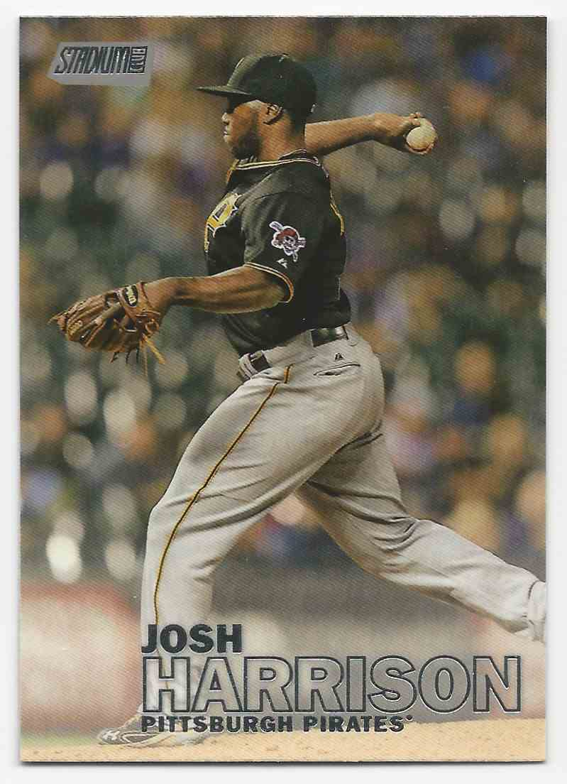 2016 Stadium Club Josh Harrison #137B card front image