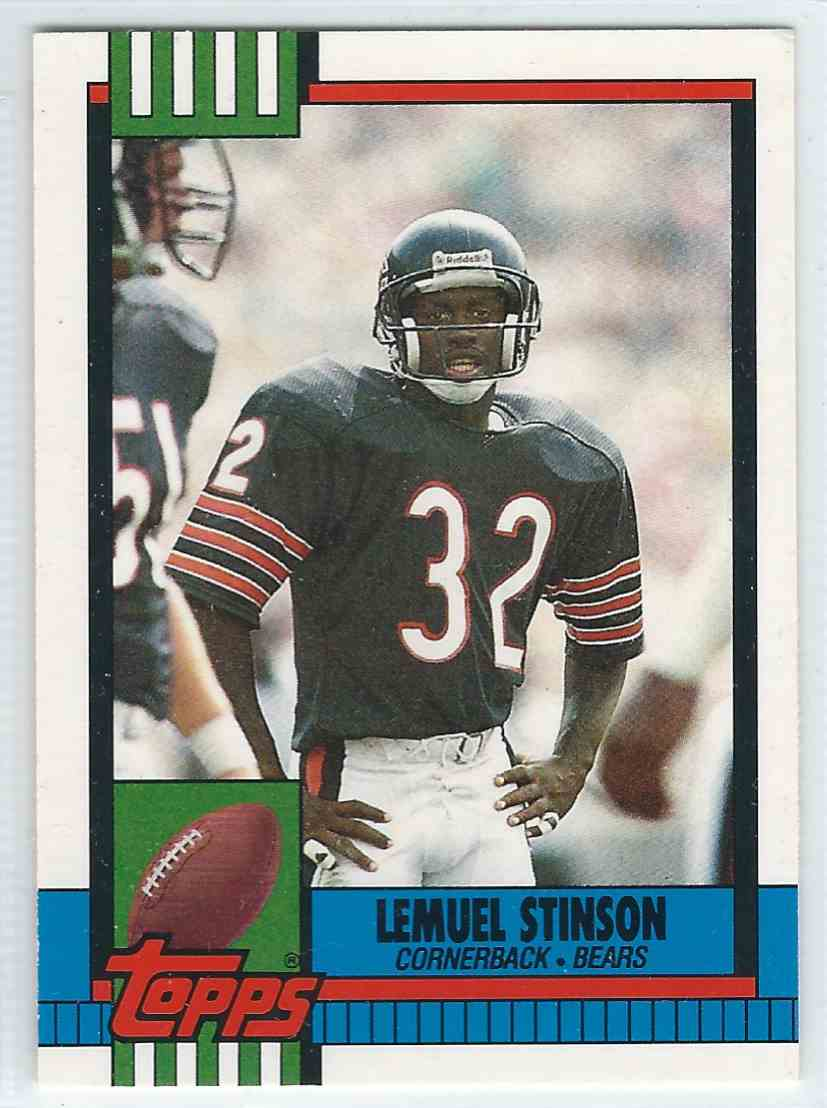 1990 Topps Traded Lemuel Stinson #96T card front image