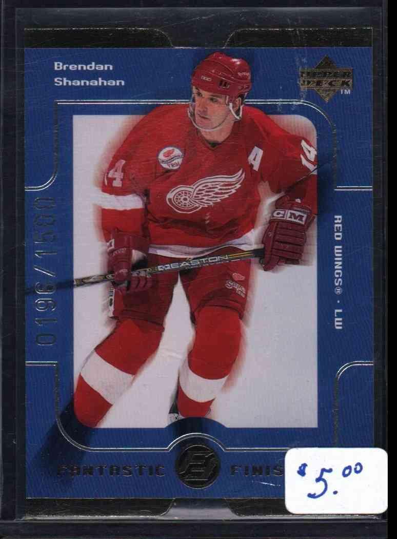 1998-99 Upper Deck Quantum Brendan Shanahan #FF5 card front image