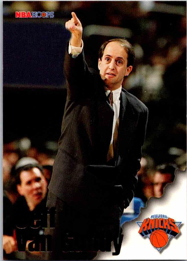 1997-98 NBA Hoops Jeff Van Gundy #266 card front image