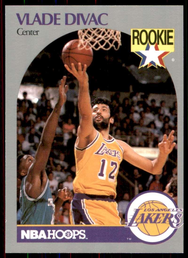 1990-91 Hoops Vlade Divac #154 card front image