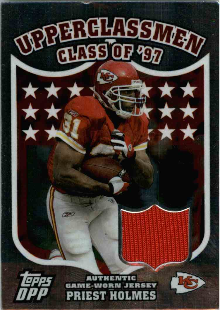 2006 Topps Dpp Priest Holmes #UCPH card front image